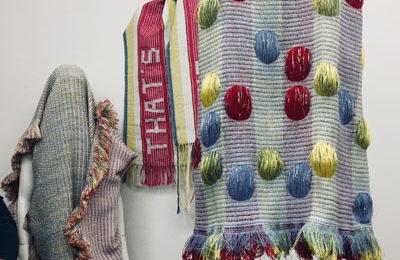 Textildesignerin Anna Davies bei PASSAGEN