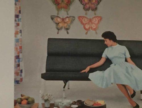 Ausstellung Eames: Historisches Werbefoto