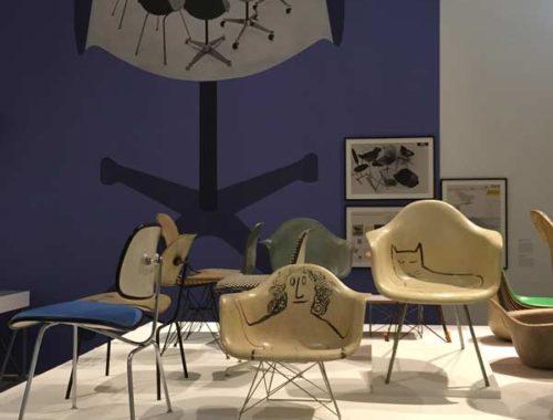 Ausstellung: Eames Chairs-Parade
