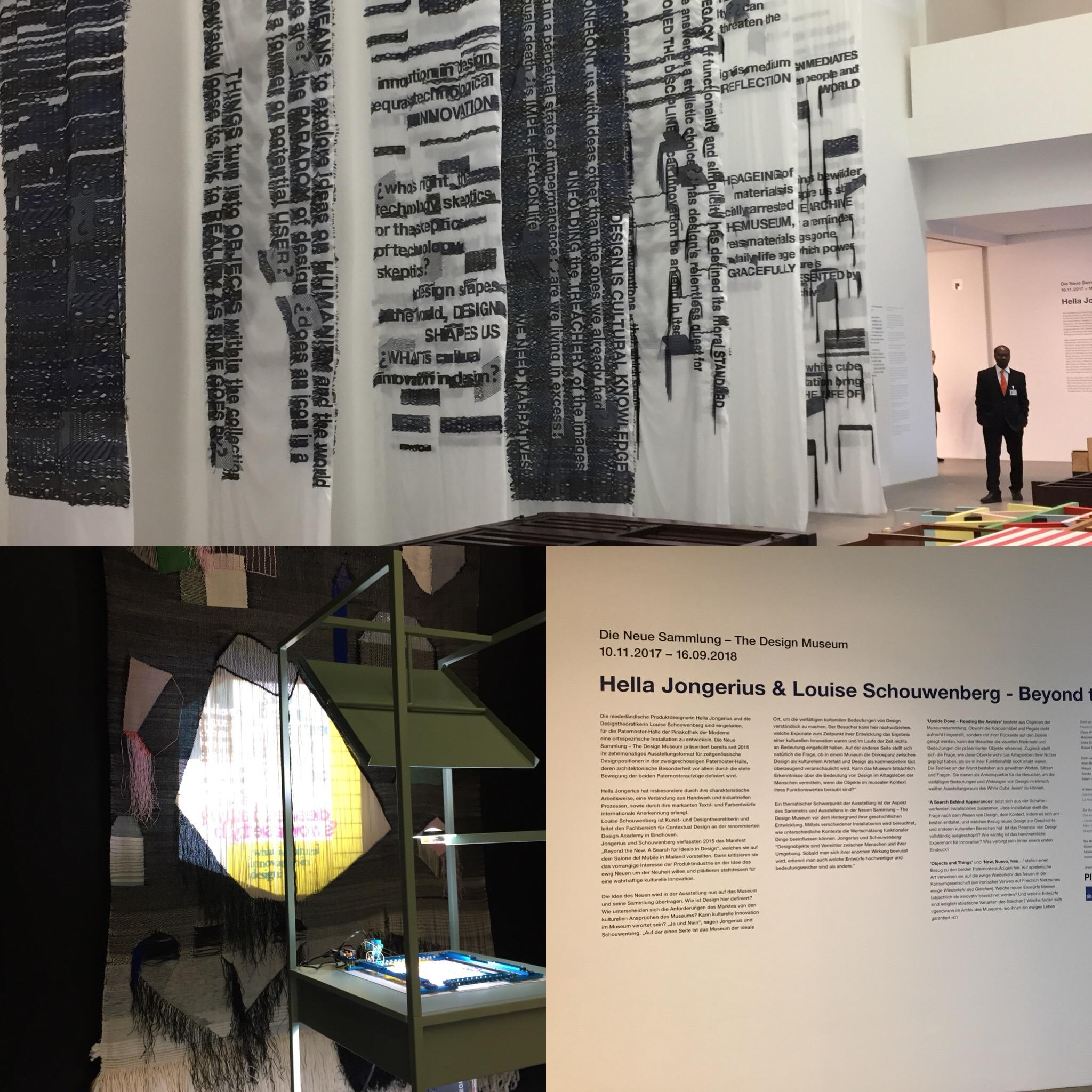Hella Jongerius im Design Museum der Pinakothek der Moderne München ...