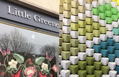 Farben und Tapeten bei Little Green