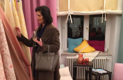 Bei Dedar/Hermès im Prisco-Haus
