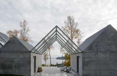 Sommerhaus in der Schären/Schweden von Tham&Videgård Architekten
