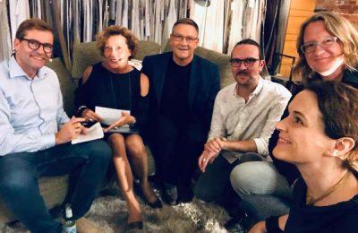 Von links: Stefan Lippert, Barbara Friedrich, Klaus Kömen, Marc Engenhart, Tobias Kollmann und Sarah Maier
