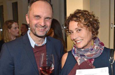 Frank Wagner (nomad Magazin) und Barbara Friedrich