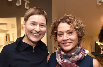 Simone Nickl (Nickl PR) und Barbara Friedrich