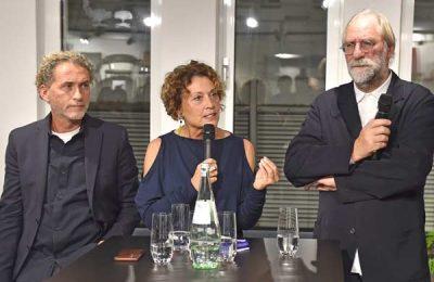 Was macht einen Designklassiker aus? Moderiert von Barbara Friedrich diskutierten Designer Werner Aisslinger und Gerhard Wolf