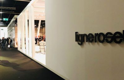 Ligne Roset: Auf dem Stand der französischen Möbelmarke entdeckt man stets neben den Entwürfen arrivierter Designer auch interessante von jungen Talenten.