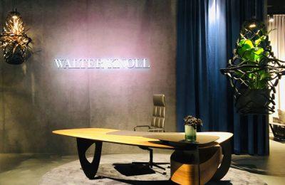 """Walter Knoll: """"Tama Desk"""" und """"Leadchair Management""""-Bürosessel von EOOS."""