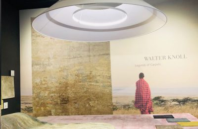 Walter Knoll: Traumhafte Teppiche, die wie Landschaftsgemälde aussehen.